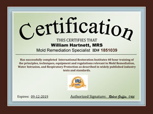 MRS Certification